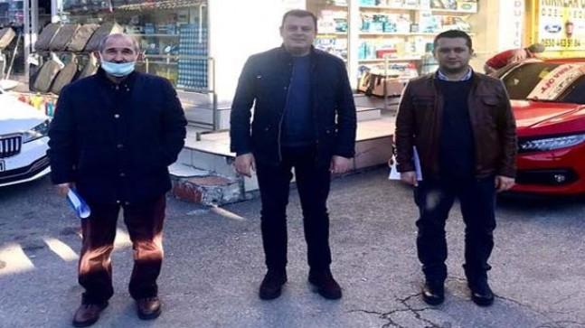 Başkan Akdeniz'den vekil Gündoğdu'ya ziyaret