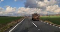 Pınarhisar'ın köy yolları boş kaldı