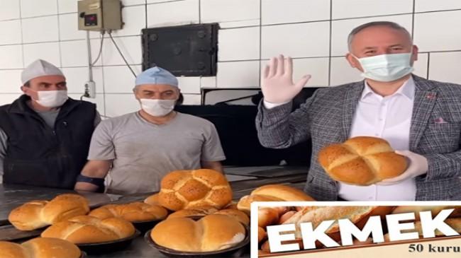 Kaynarcalı esnafa ekmek 50 kuruş