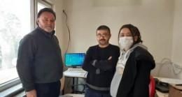 Siber Güvenlik Teşkilatı Derneği Başkanı Pınarhisar'daydı