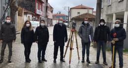 Başkan Türker denetim için sahadaydı
