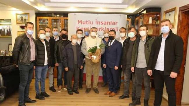 """CHP Pınarhisar'dan """"Hoş geldin"""" ziyareti"""