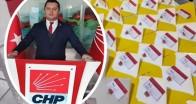 CHP üyelerine üyelik kartı ve rozet