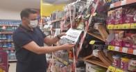 Pınarhisar'da marketler denetlendi