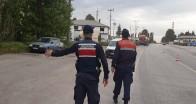 Jandarma'dan tam kapanma denetimi
