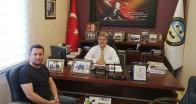 Başkan Akdeniz'den Başkan Çobanoğlu'na ziyaret