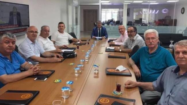 29. Bölge Birliği Yönetimi toplantısına katıldı