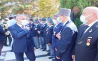 Kırklareli'de 19 Eylül Gaziler Günü töreni